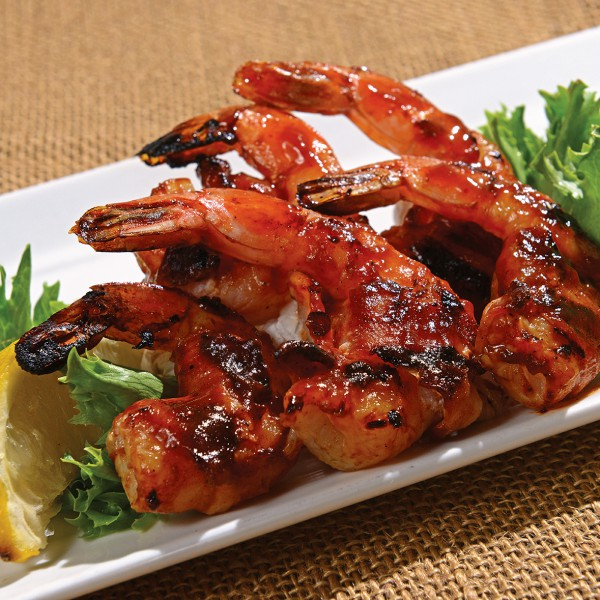 BBQ Shrimp Wrapped in Bacon