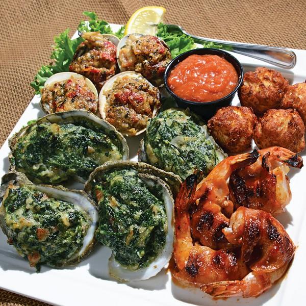 Rockafeller's Seafood Samplers