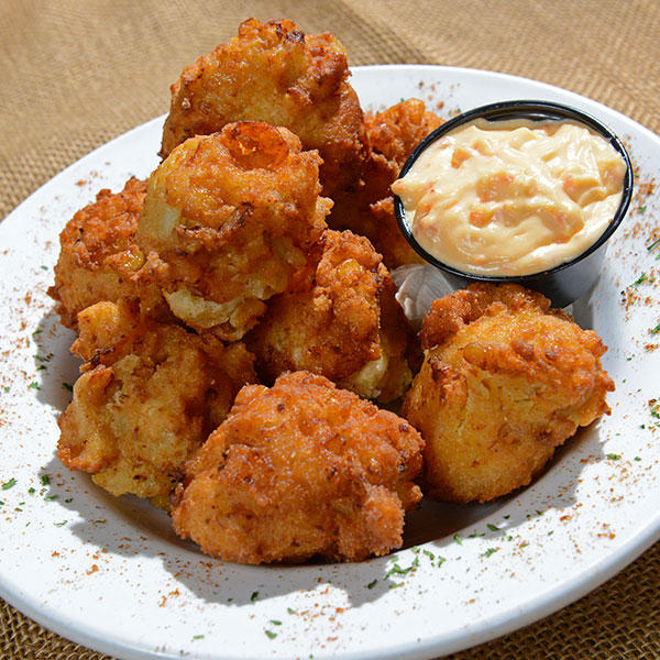 Crab and Shrimp Hushpuppies
