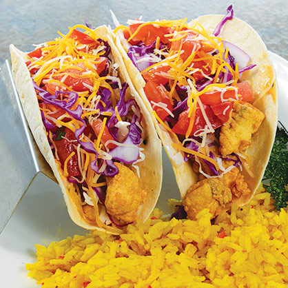 Fish or Shrimp Tacos