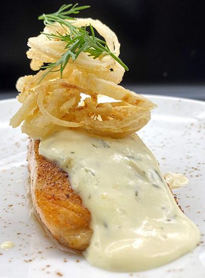 Dijon Dill Salmon