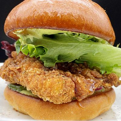 Paella Crusted Chicken